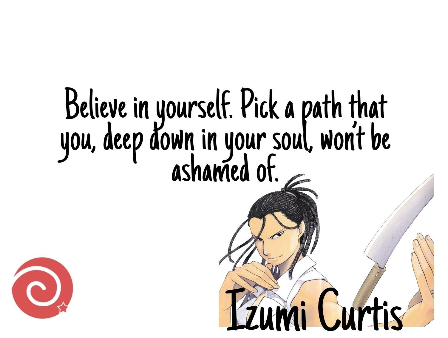 Izumi Curtis Quotes