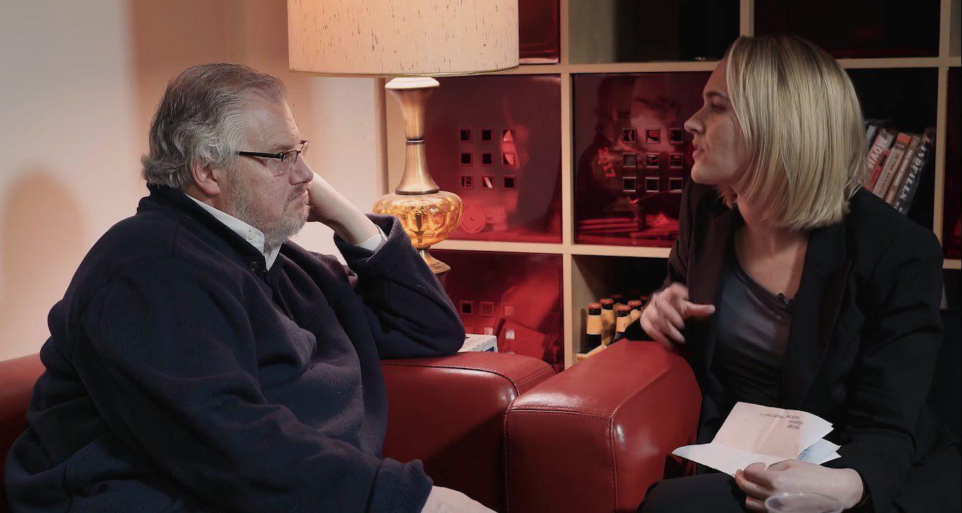 Ken Kratz in conversatioin with Jena Friedman