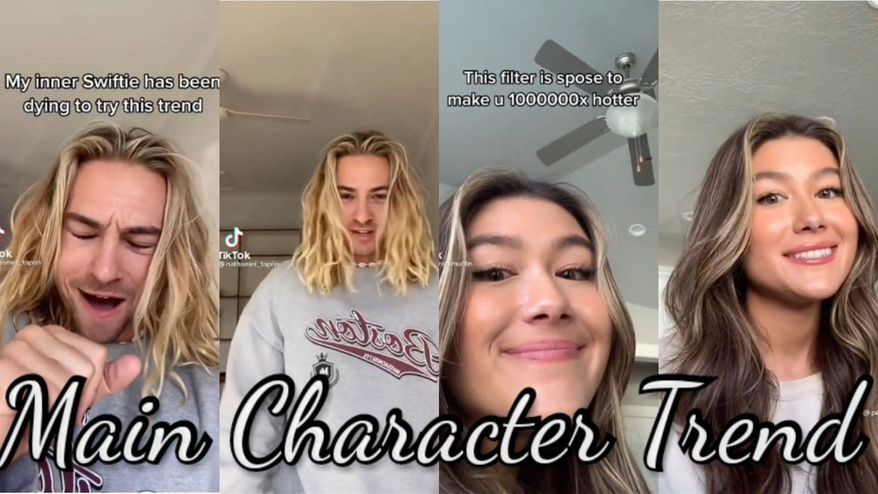 How to get the main character filter TikTok