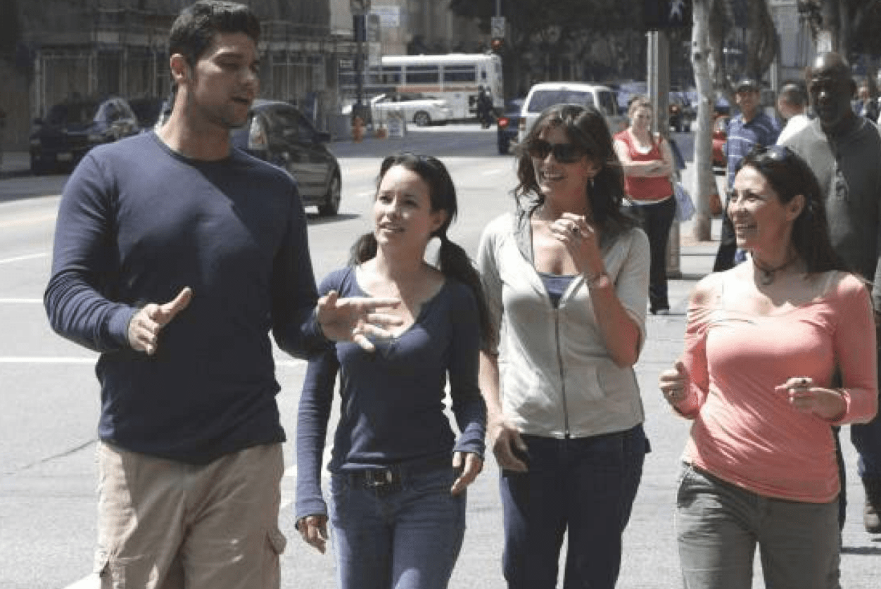 what dating show mark philippoussis starred in before?