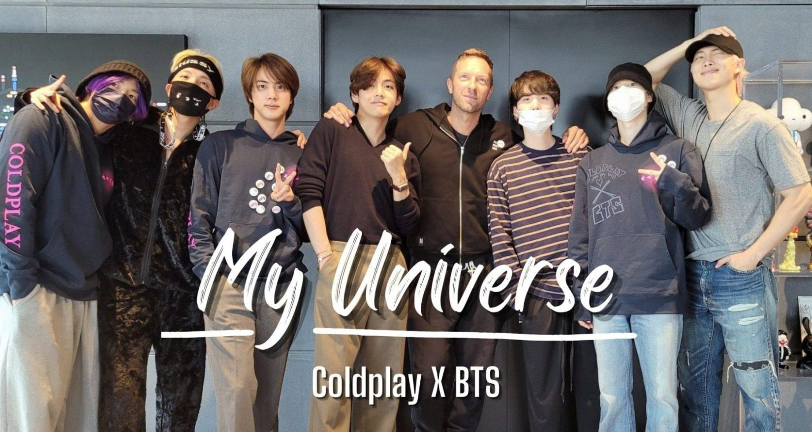 BTS and Coldplay's 'My Universe' Debuts On UK's Official Chart As Best Selling Single Of The Week