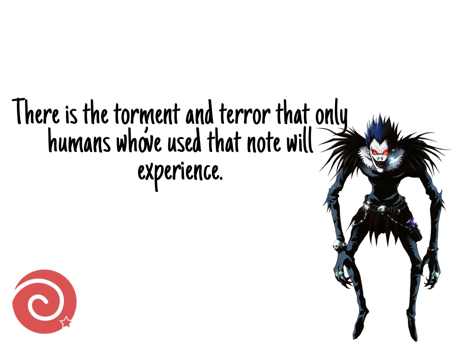 Ryuk quotes from Death Note