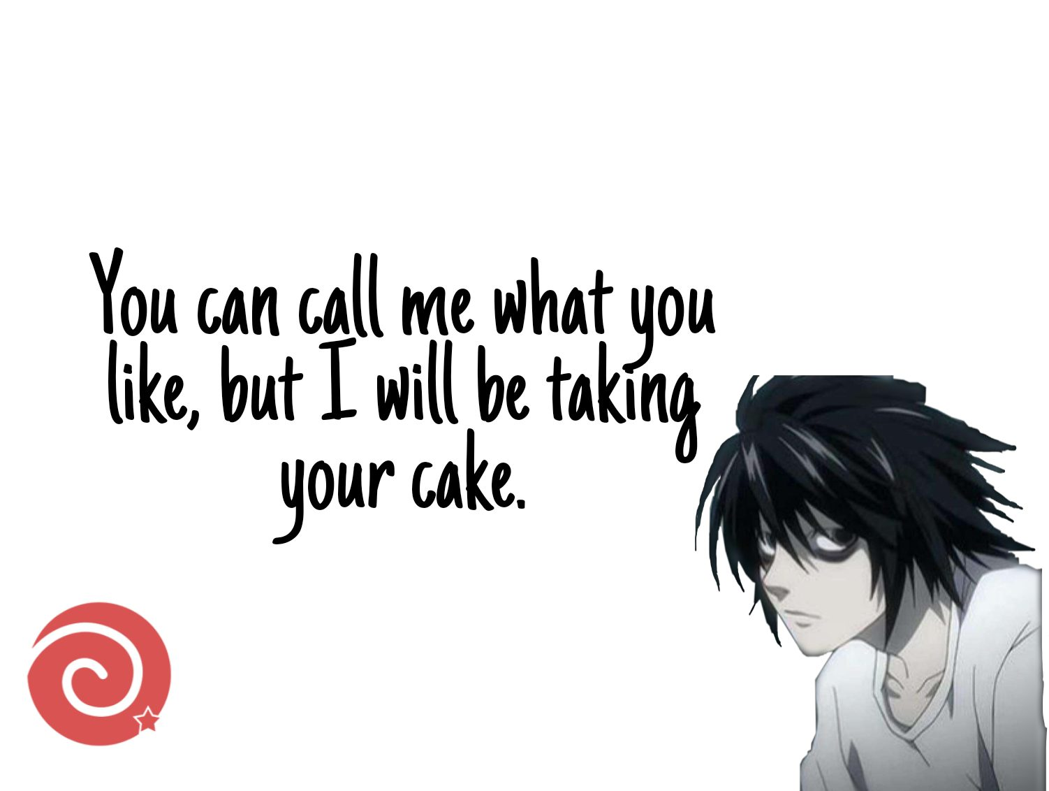 L and cake