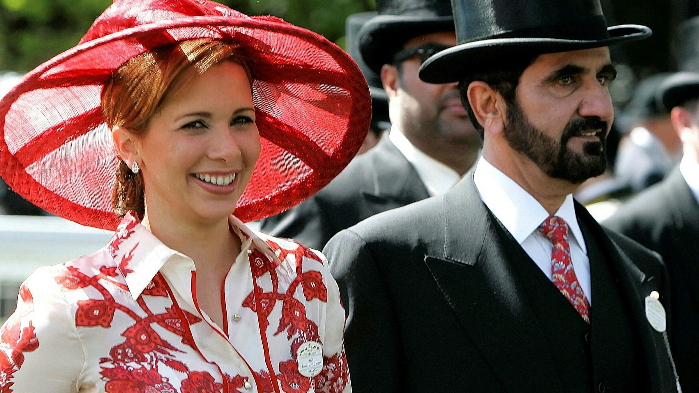 Princess Haya and Sheikh Mohammad