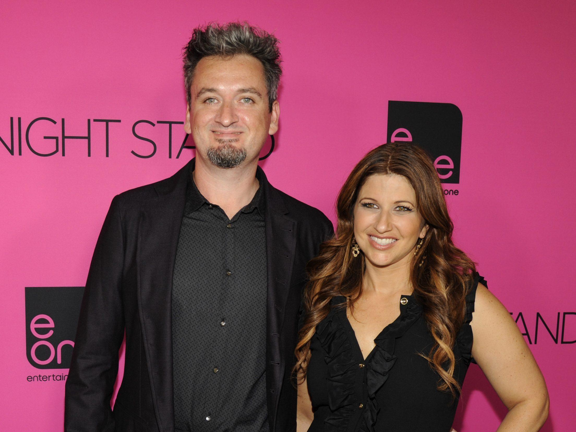 Rachel Nichols with husband Max Nichols