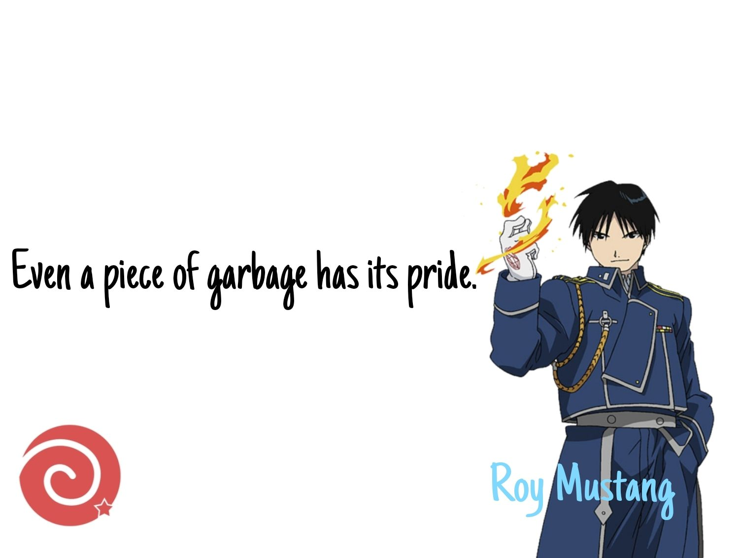Roy Mustang FMA quotes
