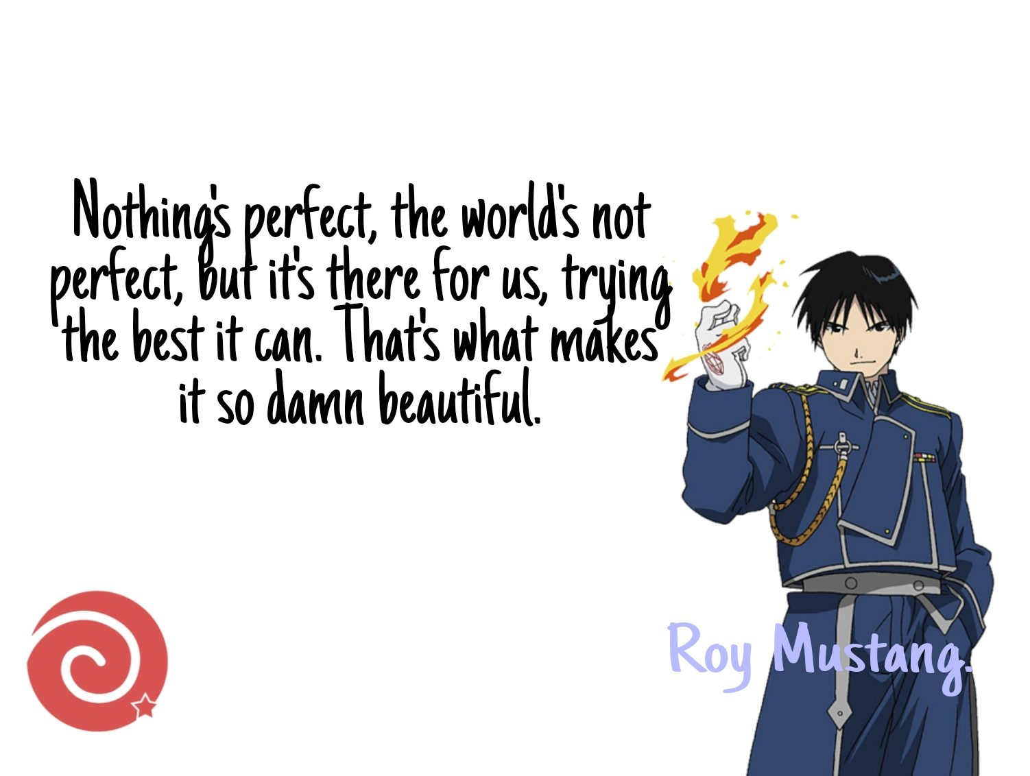 Quote by Roy Mustang