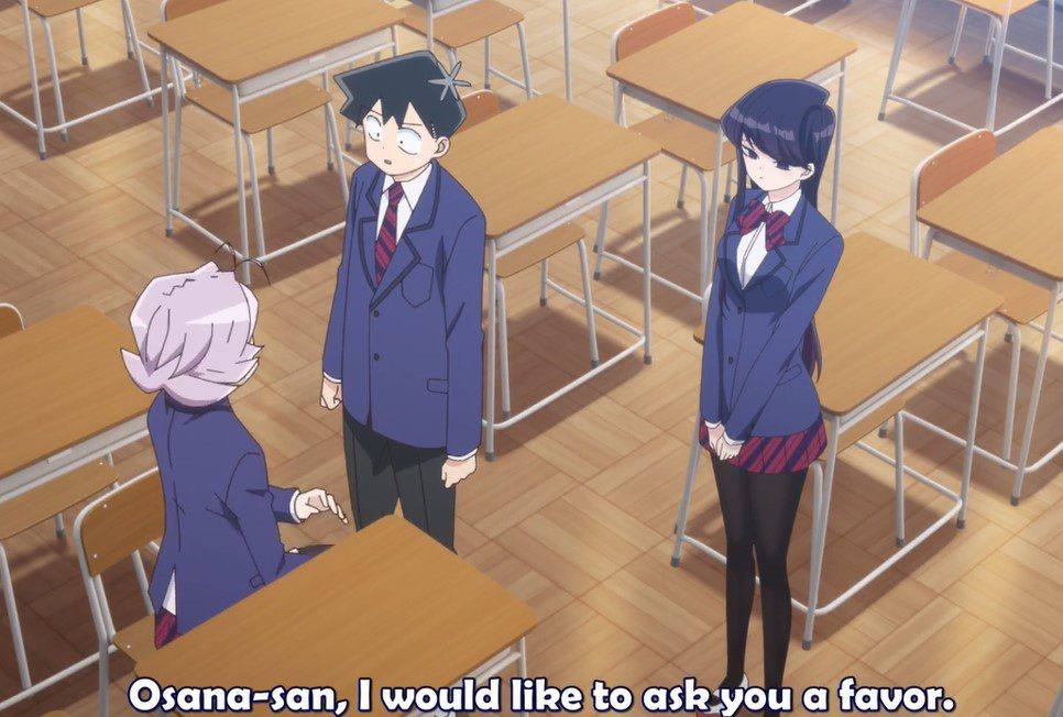 Komi Can't Communicate Episode 3