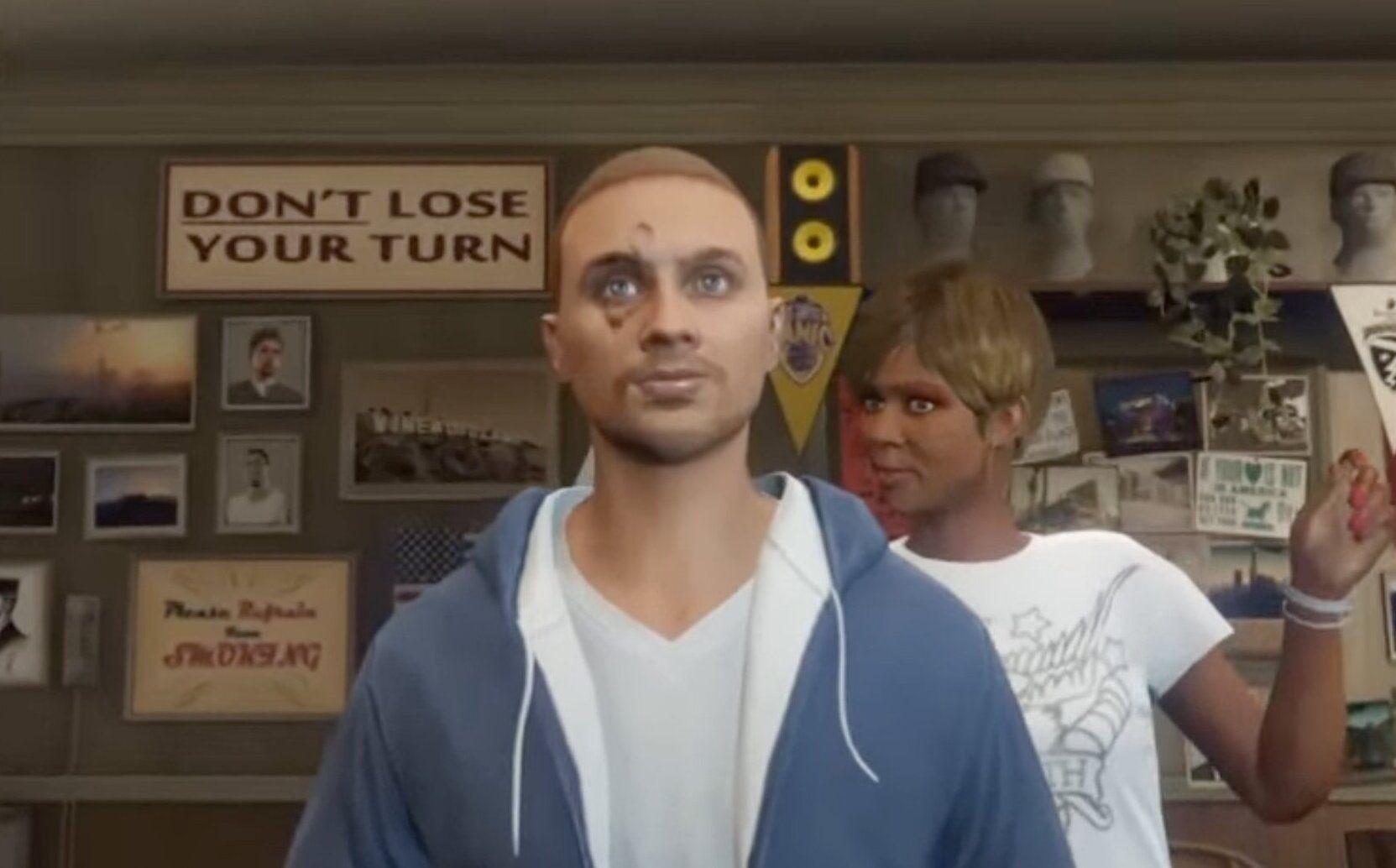 How do you make your GTA character look like Paul Walker?