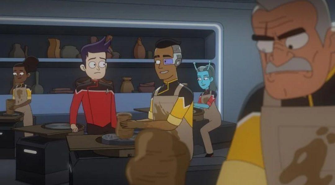 Who plays Boimler in Star Trek Lower Decks