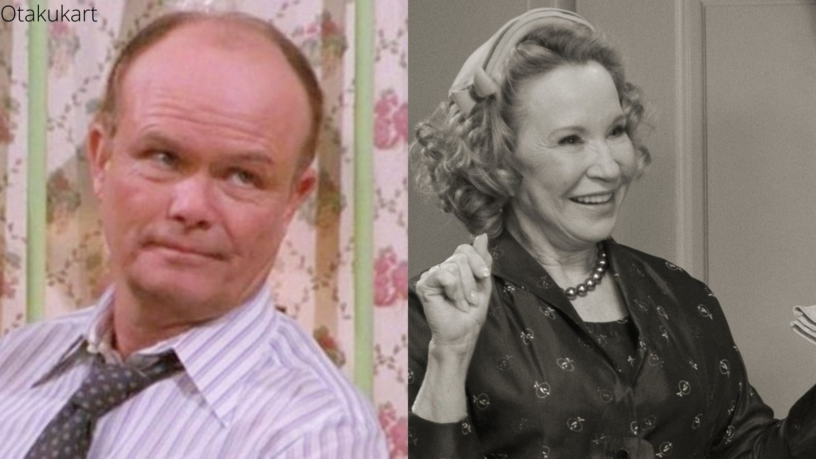 That 70s show spinoff That 90s show cast- Debra Jo Rupp and Kurtwood Smith