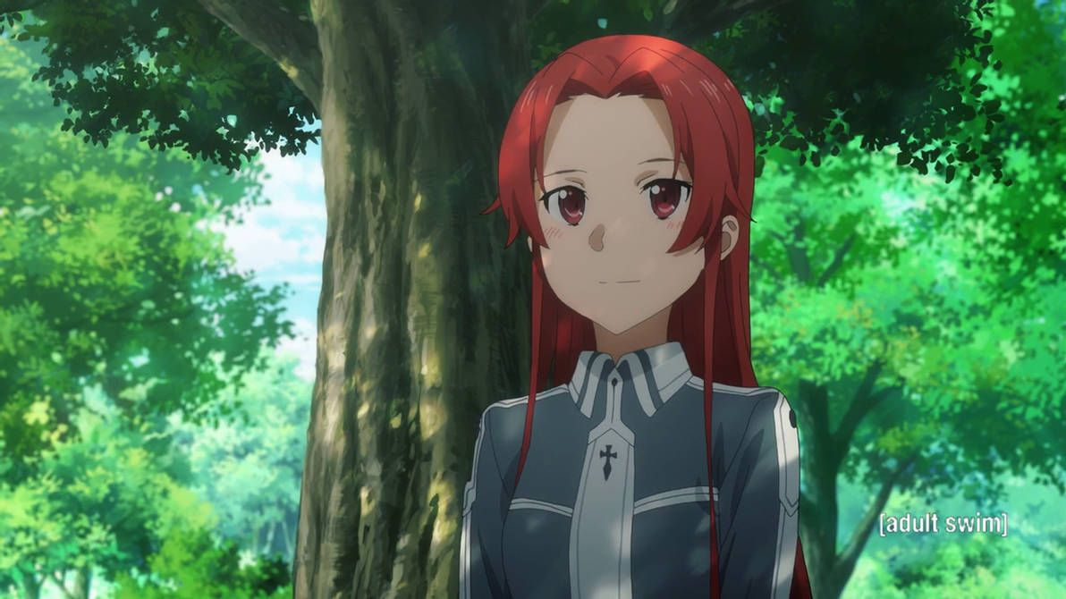 Best Anime Girls With Red Hair