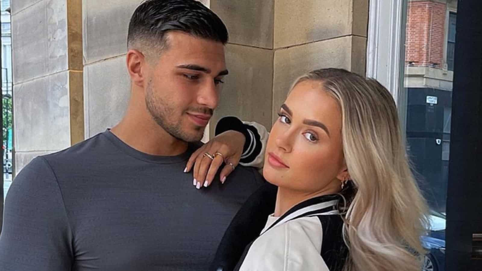 Tommy Fury with girlfriend Molly