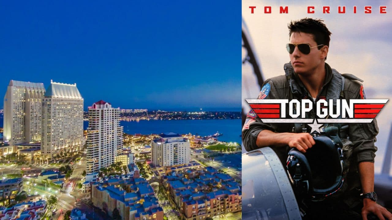 Top Gun Filming Locations