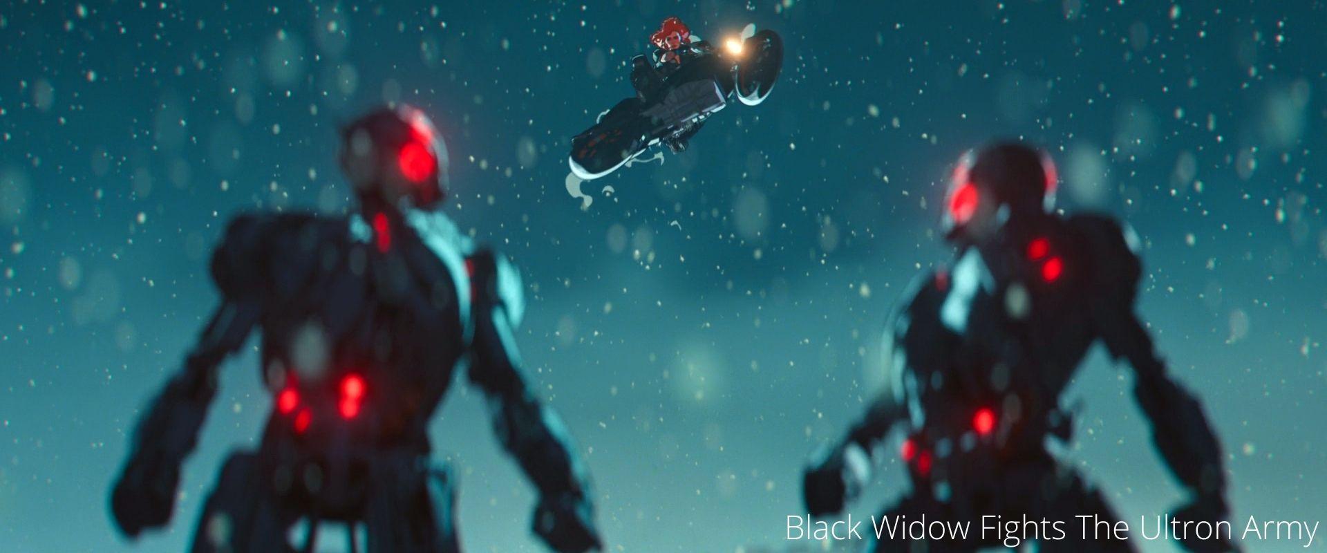 Black Widow in Episode 8