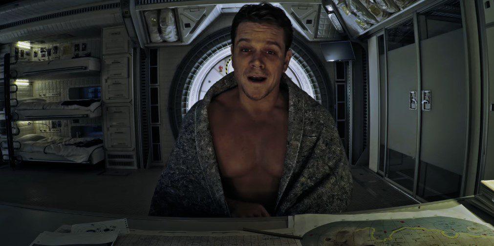 Where was The Martian filmed?