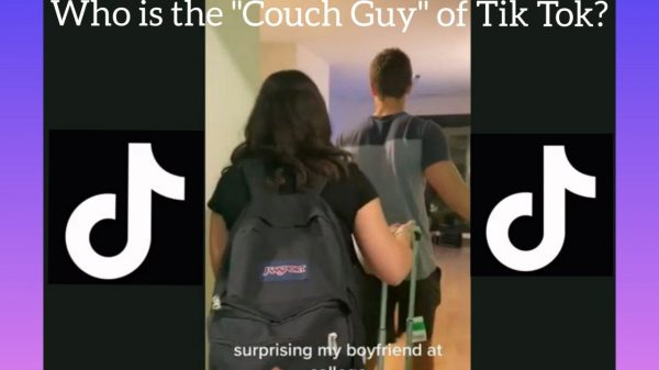Who is Tik Tok's couch guy