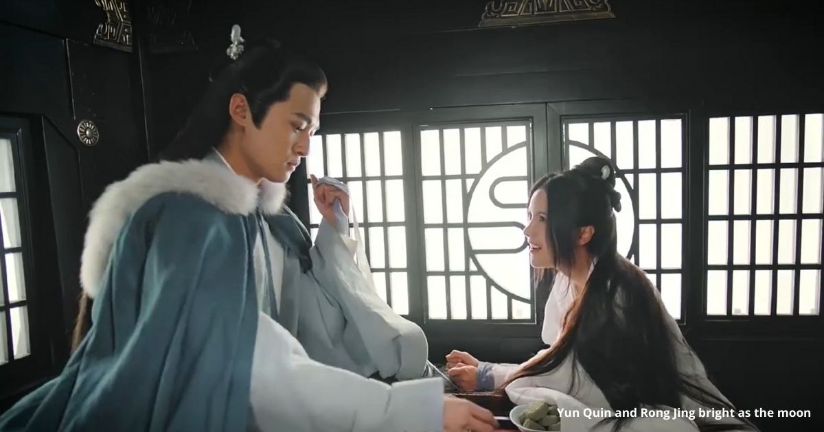 Yun Quin and Rong Jing bright as the moon