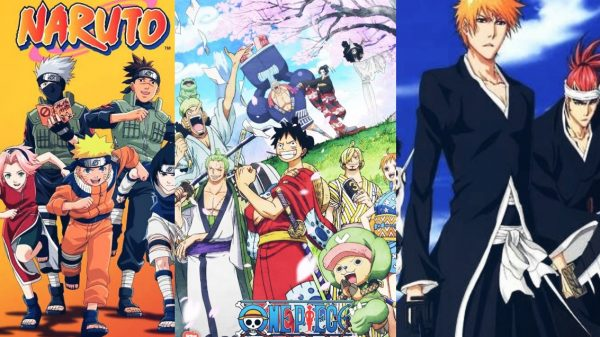 What are the Big 3 anime