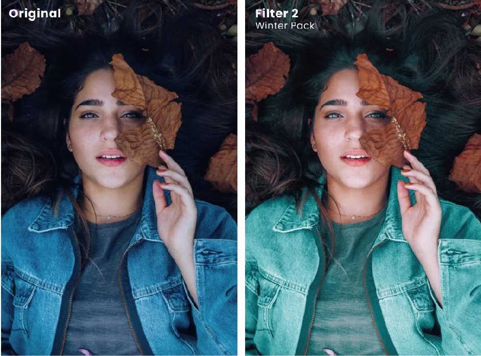 How to get fall filter instagram