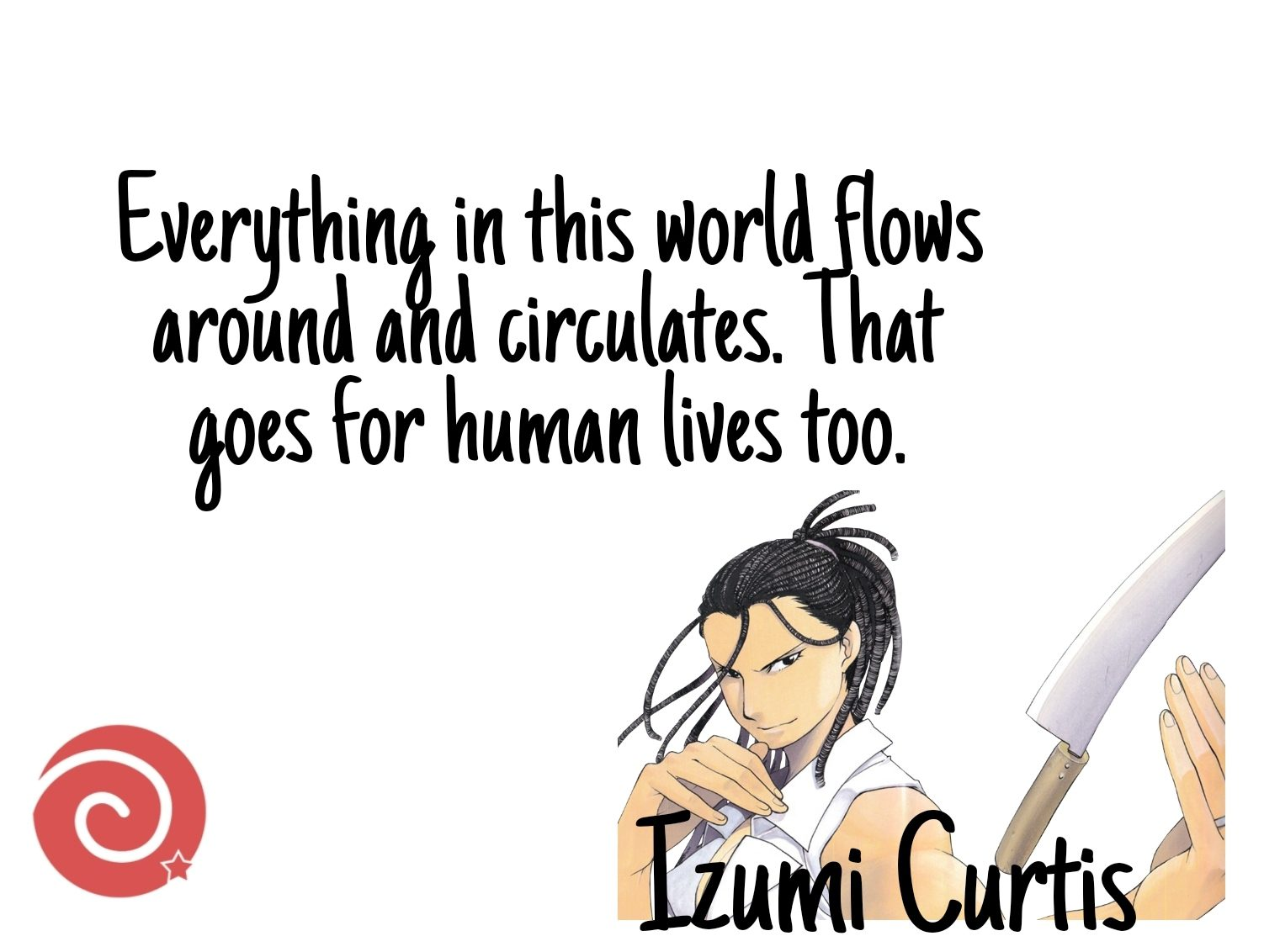Izumi Curtis Quotes From Fullmetal Alchemist
