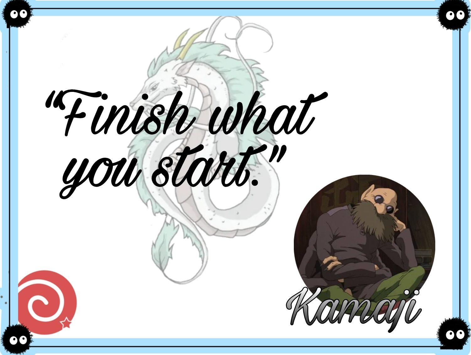 Kamiji quotes from Spirited Away