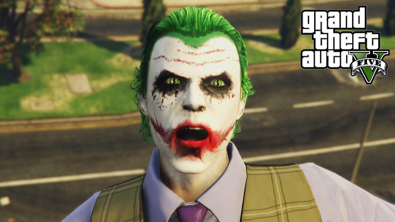 How do you make your GTA character look like the Joker?