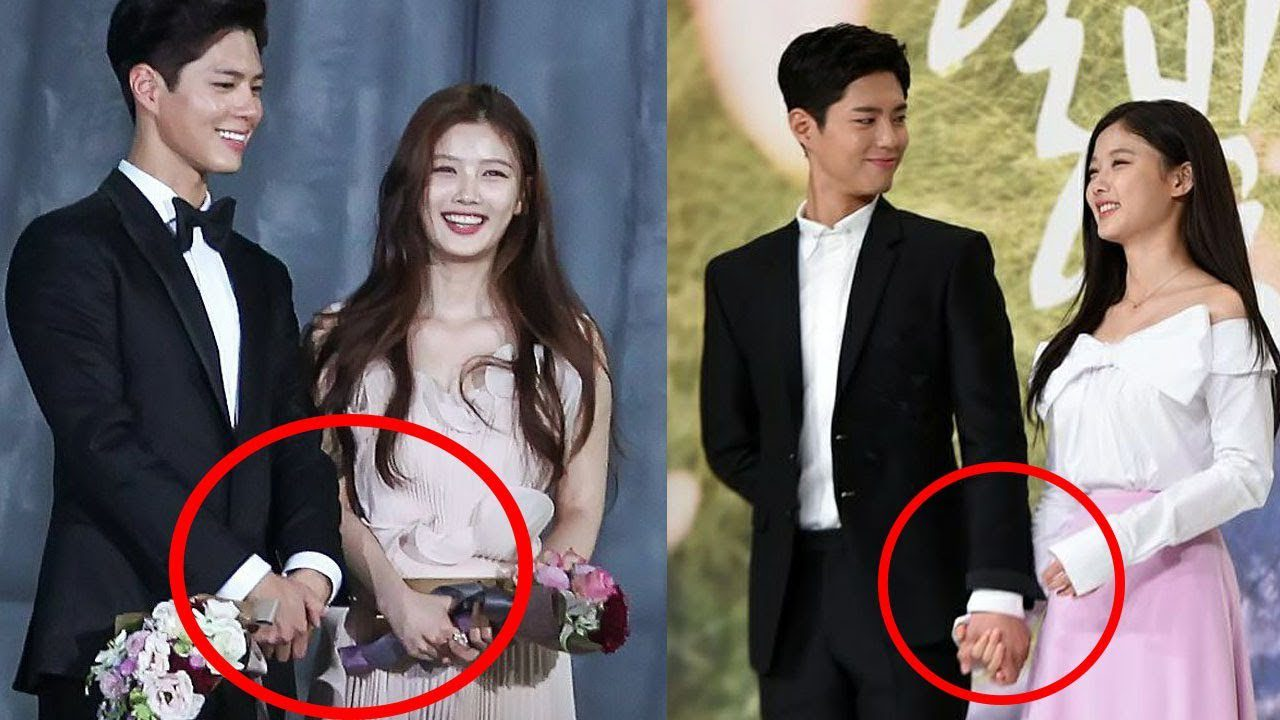 park bo gum and kim yoo jung holding hands