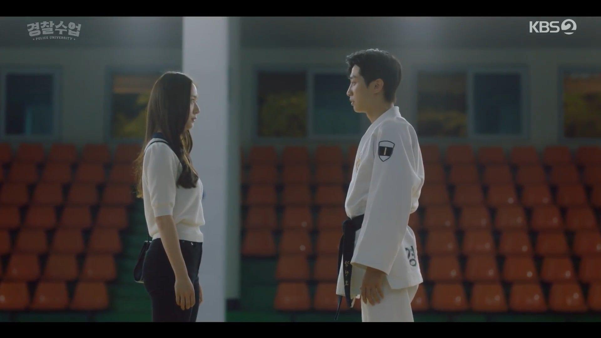 Police University Cha Tae Hyun, Jinyoung & Krystal Goodbye