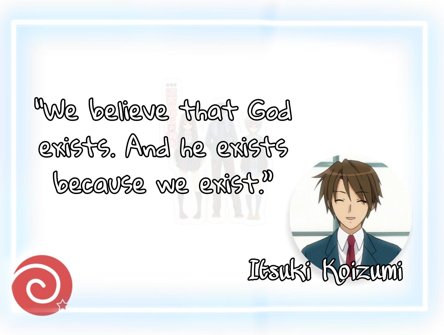 Quote by Itsuki Koizumi