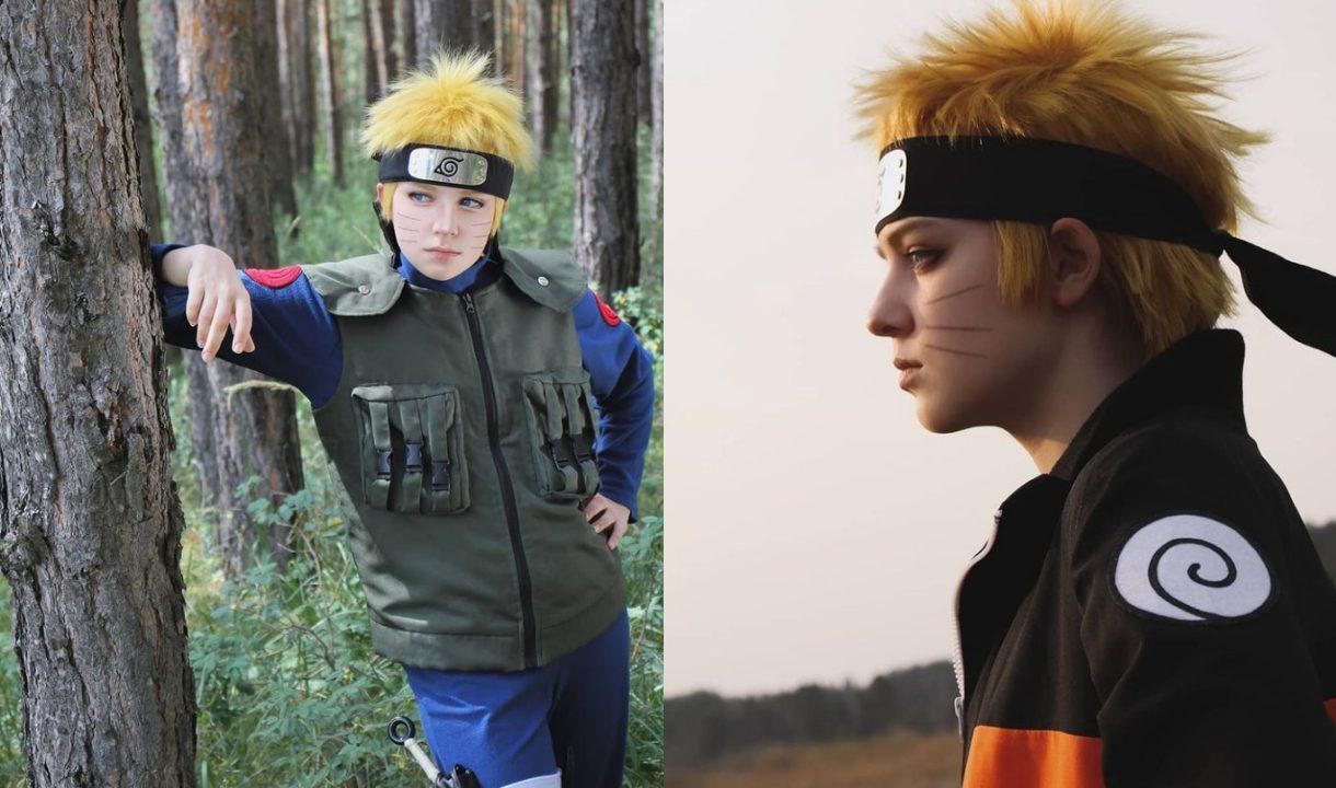 Cosplay of Naruto Uzumaki