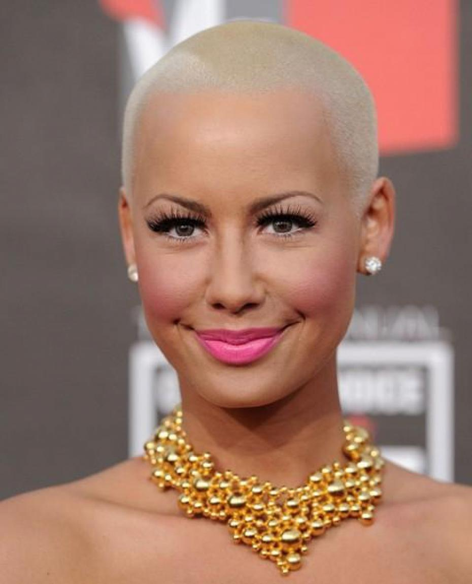 the famous Amber Rose