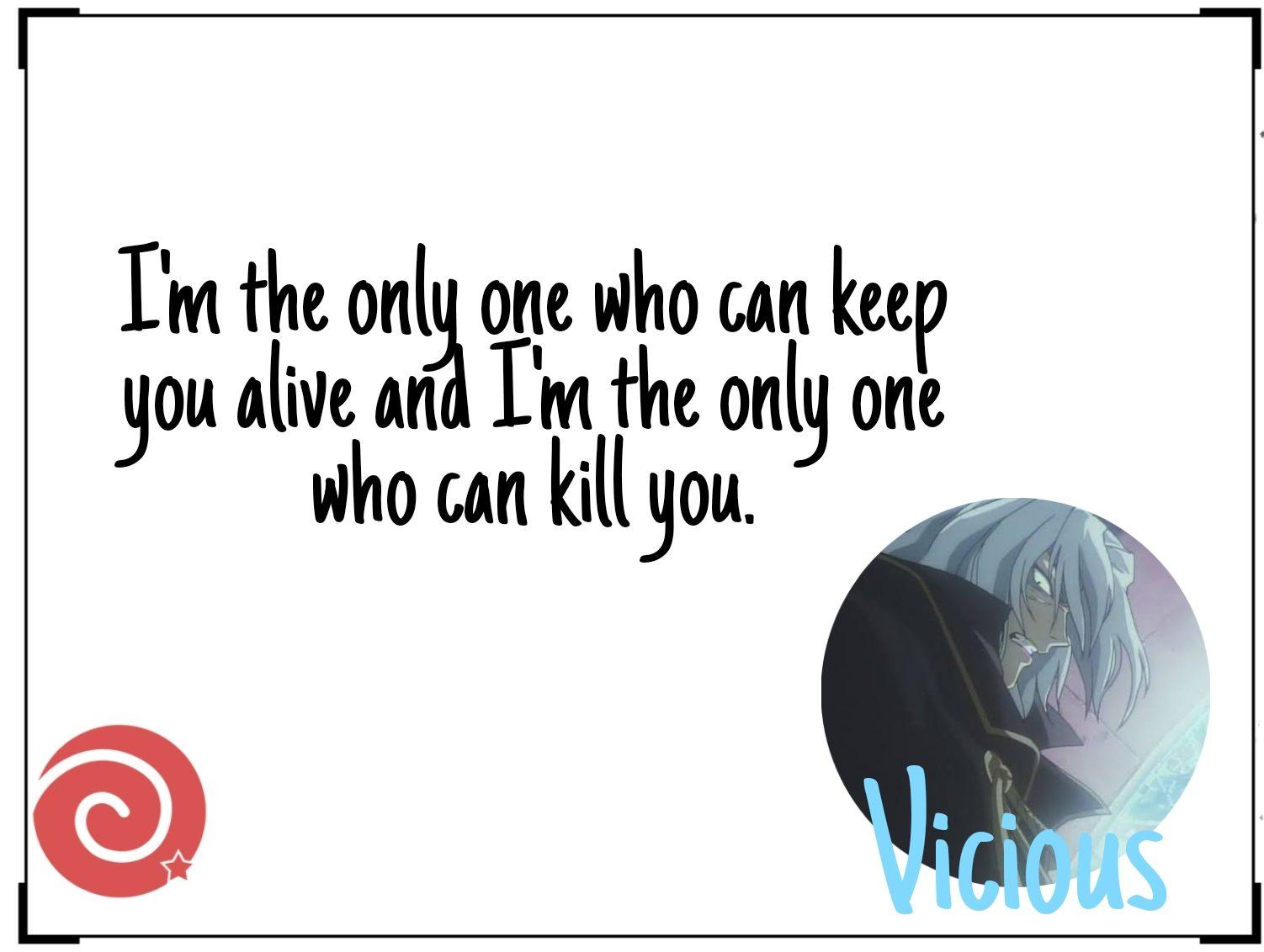 Vicious quotes