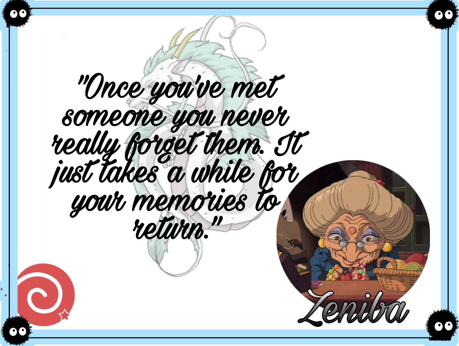 Zeniba quotes